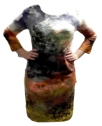 1272 Платье Разм: 44-54